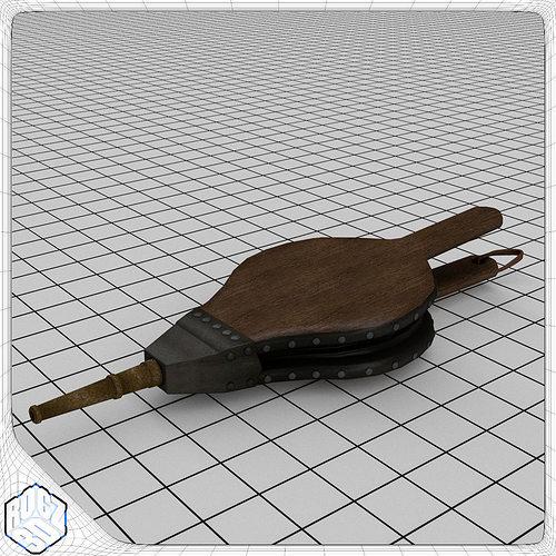 bellows 3d model obj 3ds fbx blend mtl 1