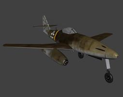 Messerschmitt Me 262 Schwalbe 3D asset