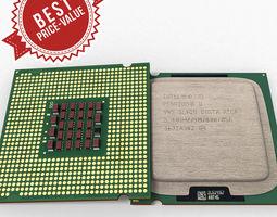 3D model Intel Pentium D