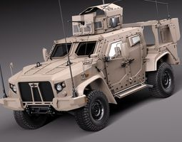 Oshkosh JLTV 2014 3D Model