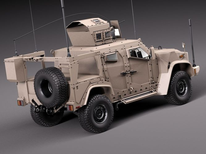 Oshkosh JLTV 2014 3D Model .max .obj .3ds .fbx .c4d .lwo ...