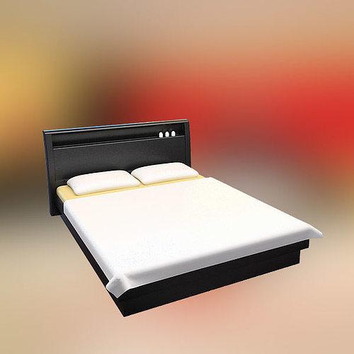Bedroom Furniture 3d Models 3d model bedroom furniture 12 set vr / ar / low-poly max obj 3ds