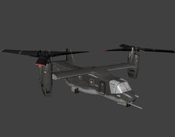 Bell Boeing V 22 Osprey 3D asset