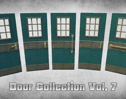 3D asset Door Collection Vol 7