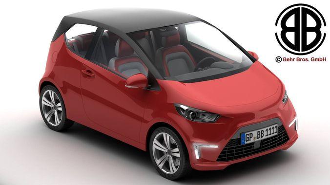 Generic City Car3D model