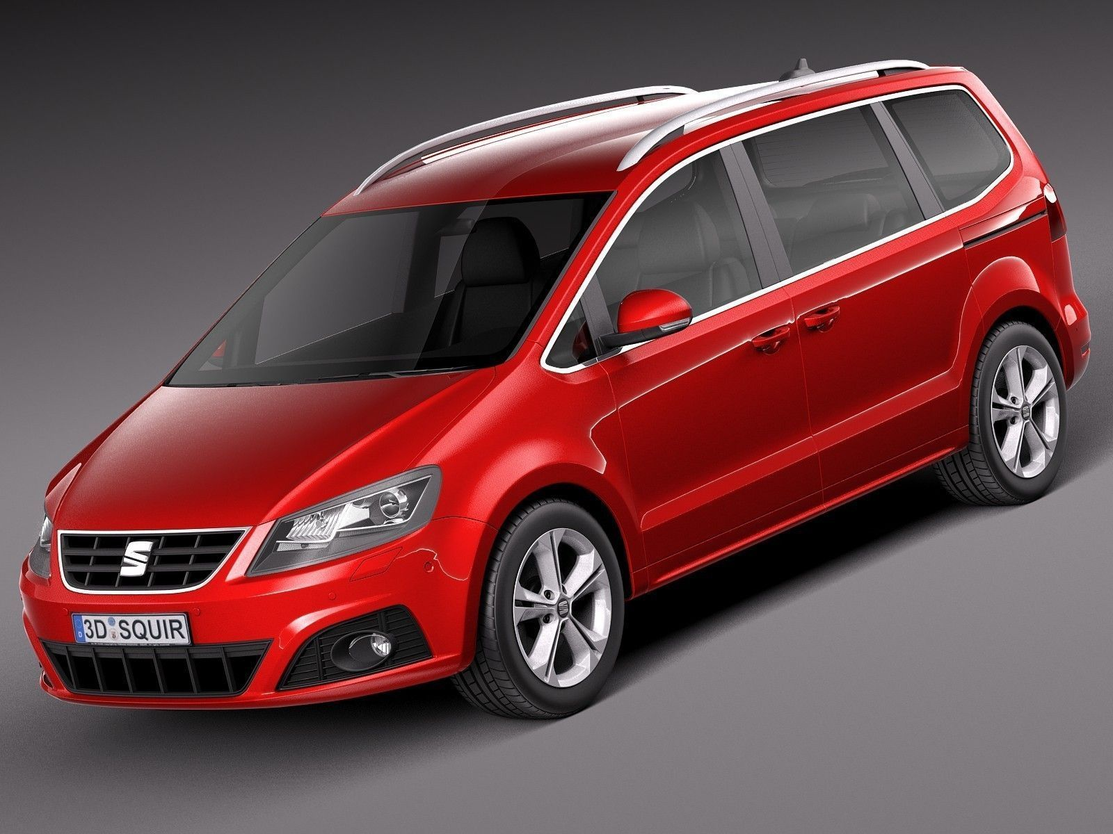 seat alhambra 2016 3d model max obj 3ds fbx c4d lwo lw lws. Black Bedroom Furniture Sets. Home Design Ideas