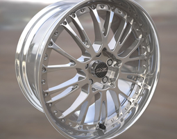 OZ Botticelli III wheel rim 3D Model