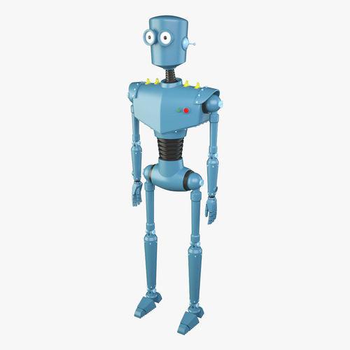 Cartoon Robot3D model