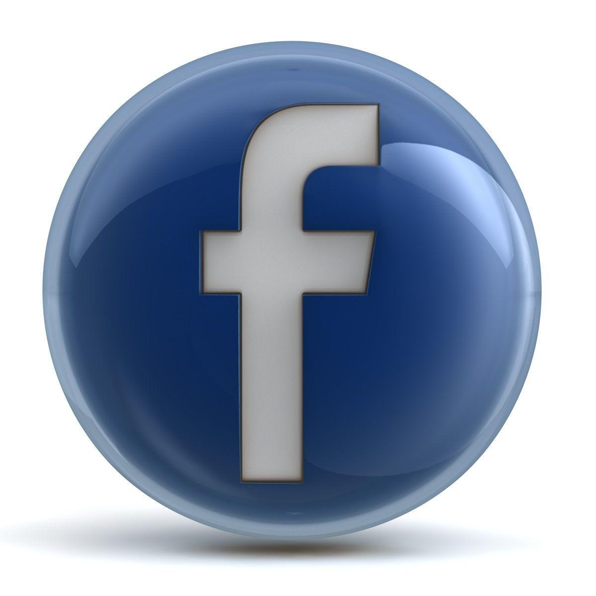 Low Sofa Facebook Icon 3d Model Obj 3ds Fbx C4d Cgtrader Com