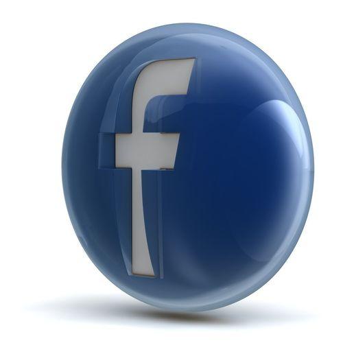 Facebook Icon 3d Model Obj 3ds Fbx C4d Cgtrader Com