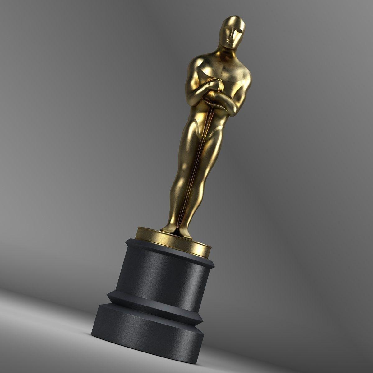 Oscar Trophy | 3D model