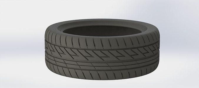 real size tire 3d model stl 1