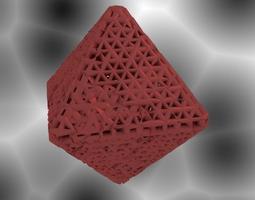 3D print model Octahedron Math art