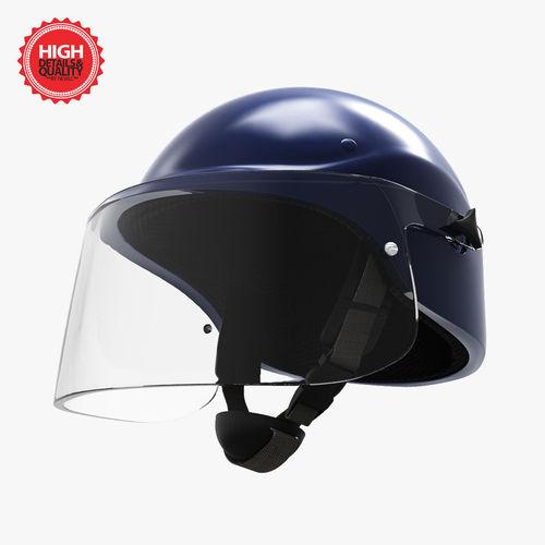 Helmet of intervention3D model