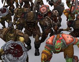 3DRT - Orc Fantasy Character 3D Model
