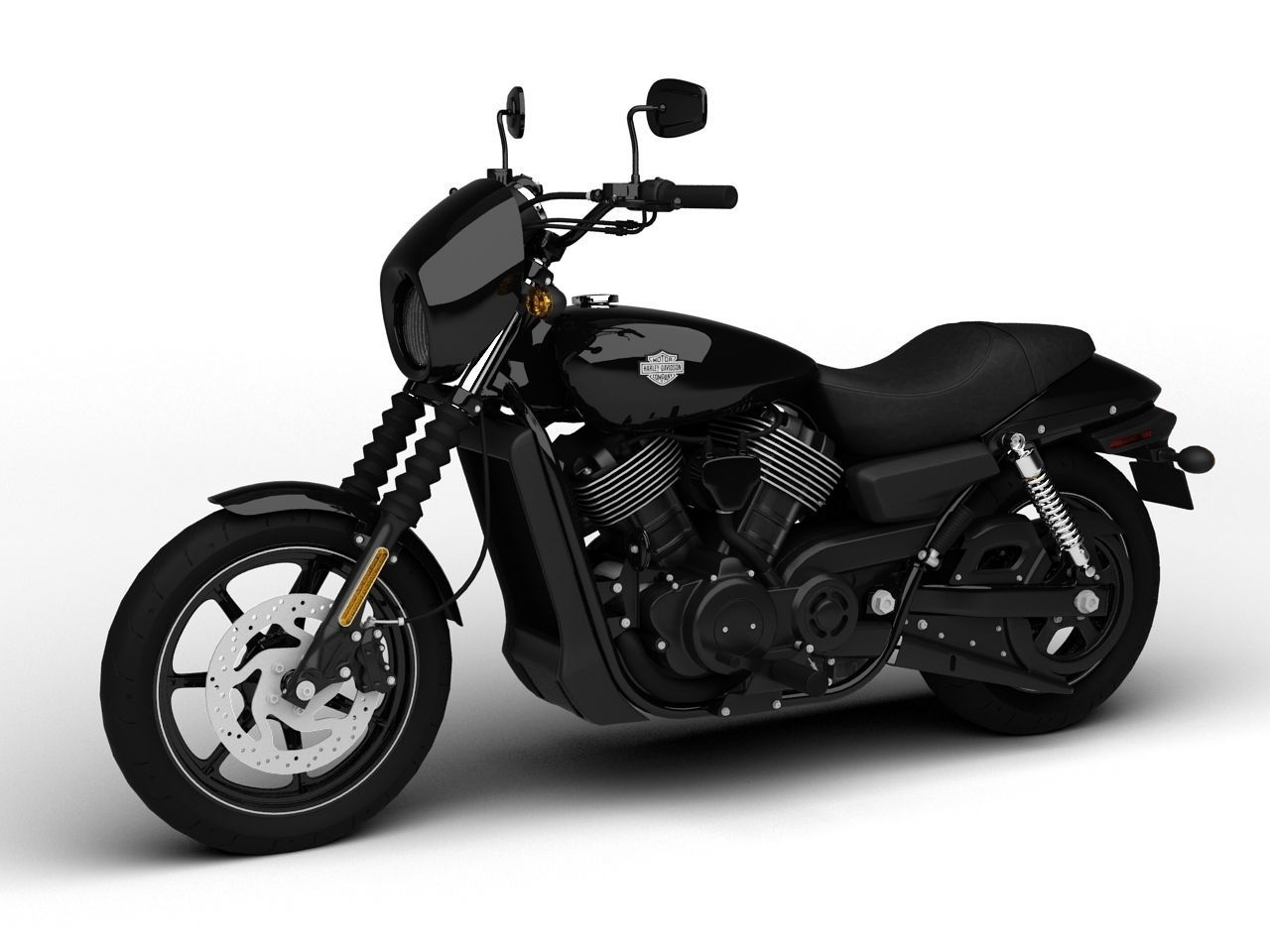harley davidson street 750 2015 3d model max 3ds fbx c4d dxf mtl. Black Bedroom Furniture Sets. Home Design Ideas
