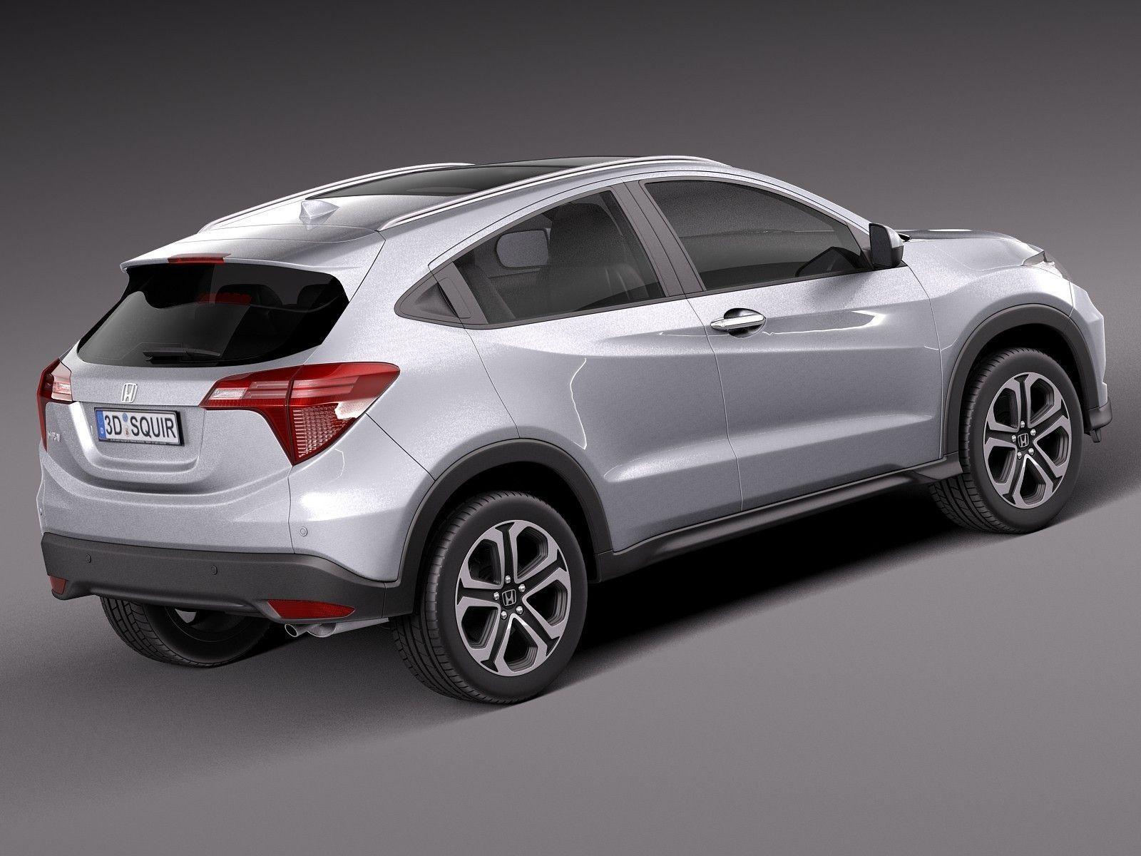 Honda HR-V EU 2016 3D Model .max .obj .3ds .fbx .c4d .lwo ...