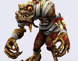 3DRT - Fantasy Ghouls  3D Model