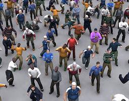 Character Human 3d Models Max Obj 3ds Fbx C4d Lwo