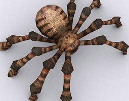 3DRT - Spiders 3D Model