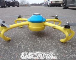 openrc quadcopter 3d print model