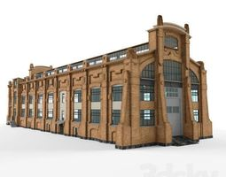 industrial building 3D
