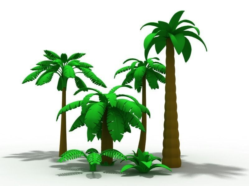 😍 Animated palm tree 3d model free download | palm tree screensaver