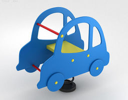 Car Spring Rider 3D Model