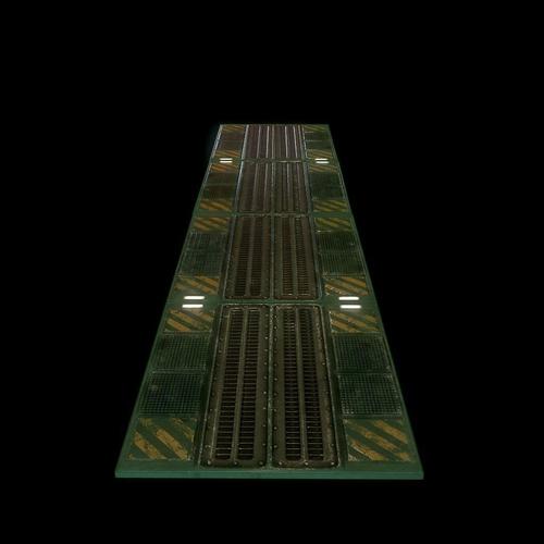 3d Floor Panels : Sci fi floor panel d model game ready obj ds fbx c
