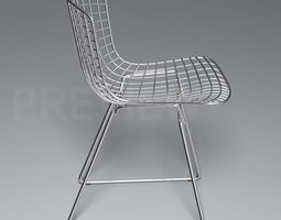 Bertoia Side Chair - Knoll 3D Model