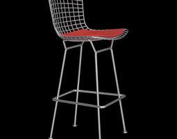 Bertoia Stool - Knoll 3D Model
