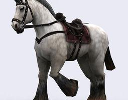 3DRT - Fantasy Mounts  3D Model