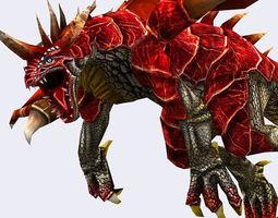 3DRT - Dragons Pack 3D Model
