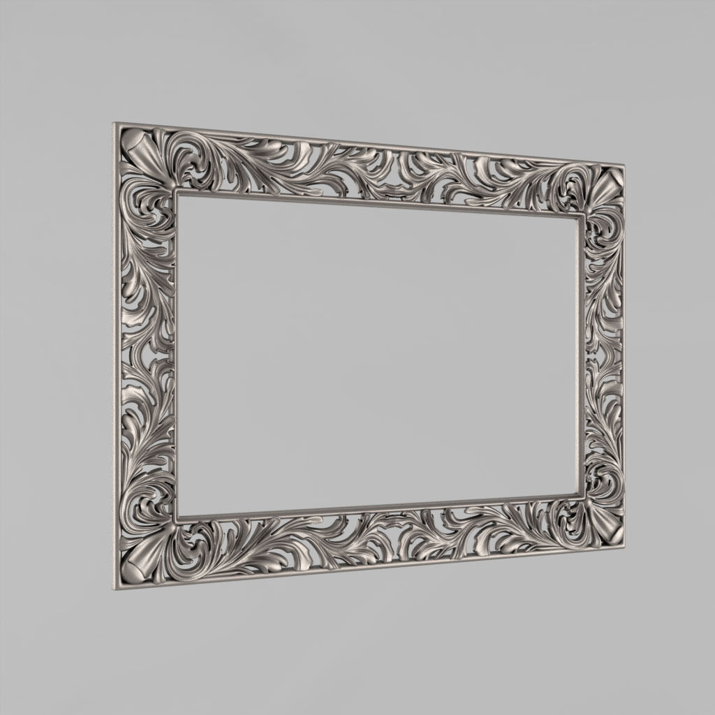 Frame for the mirror