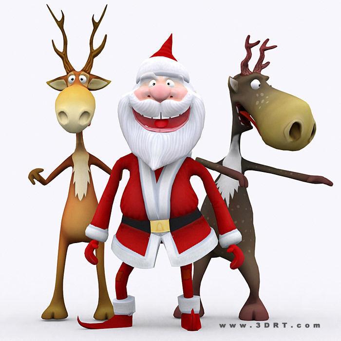 3DRT - Crazy Santa