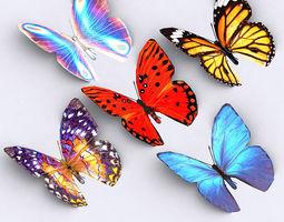 3DRT - Butterfly 3D Model