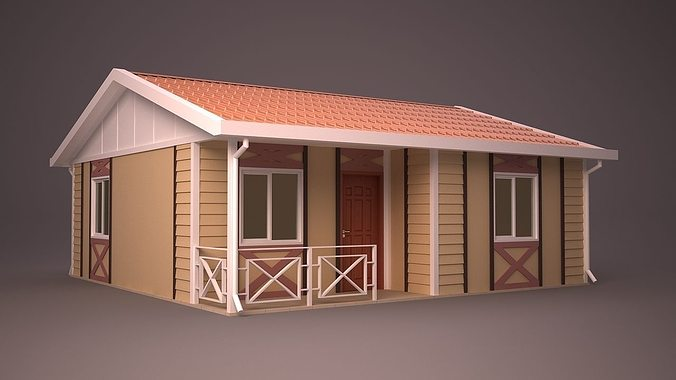 Home 23 3d model max obj 3ds fbx ma mb dwg Home 3d model
