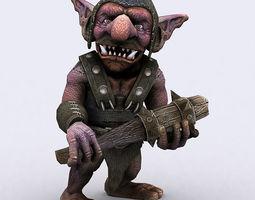 3DRT - Goblin Warriors 3D Model
