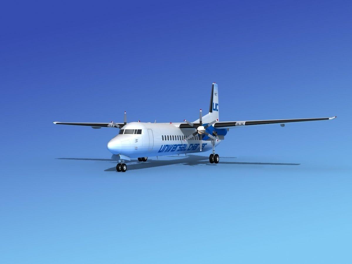 Fokker 50 Universal Charter