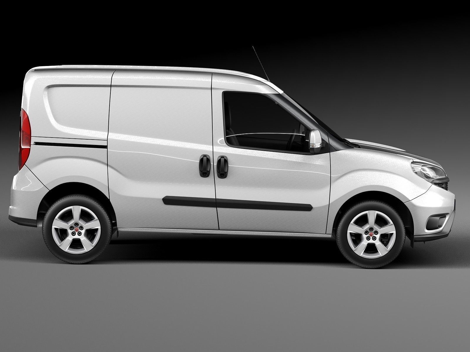 fiat doblo cargo 2015 3d model max obj 3ds fbx c4d. Black Bedroom Furniture Sets. Home Design Ideas
