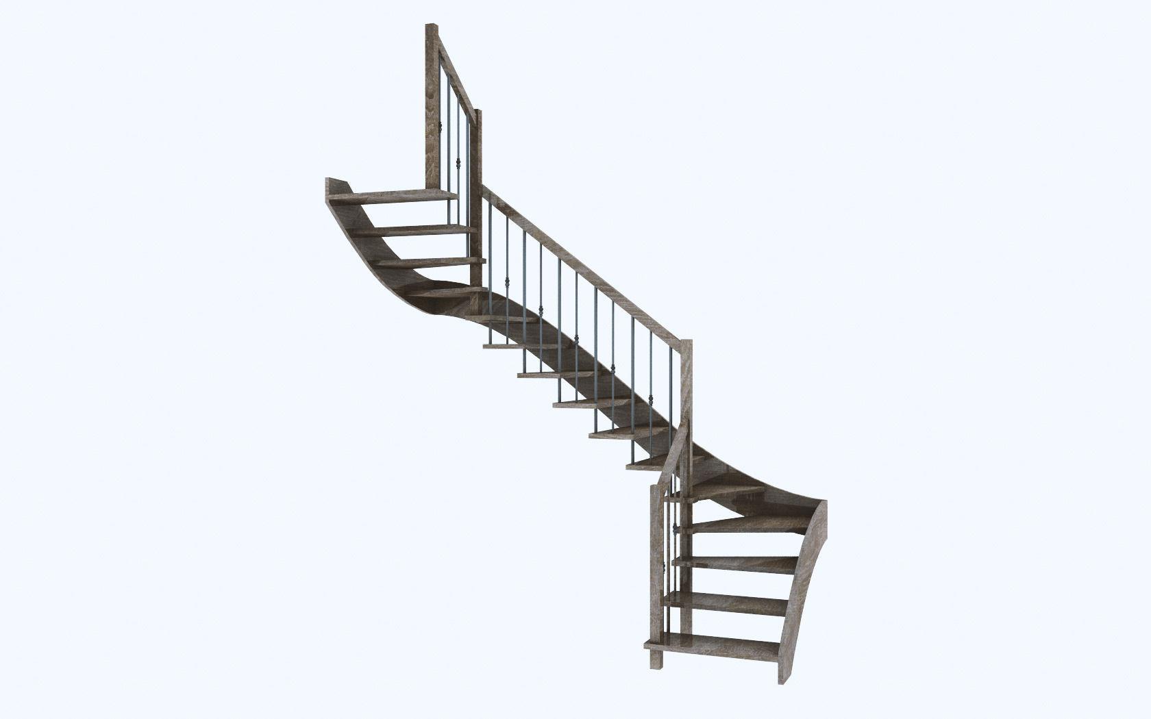interior stair 3d model  c4d