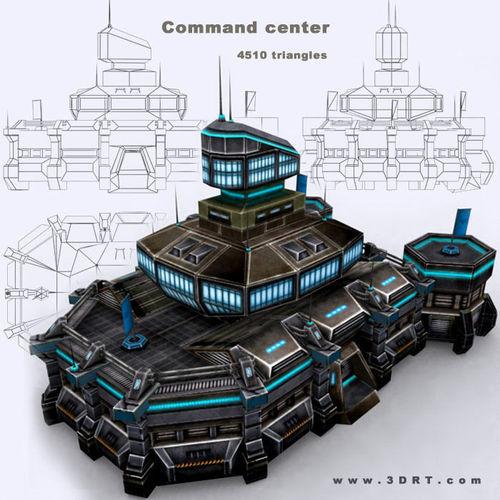 3DRT - Command Center3D model