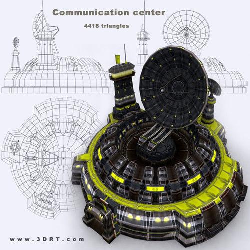 3DRT - Communication Center3D model