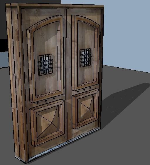 Haunted house 3d model free