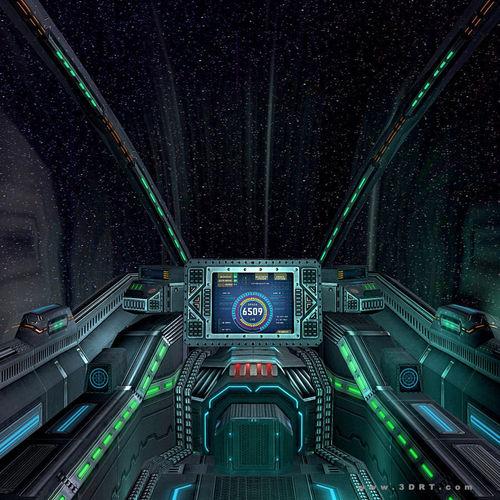 sci fi spacecraft cockpit single person - photo #26