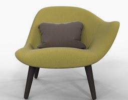 poliform mad chair marcel wanders 2013 3D Model