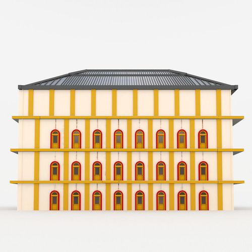 Bradbury Building3D model