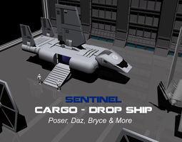 Starwars Sentinel 3D Model