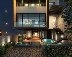 3D AL House 01