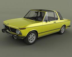 BMW 2002 Targa 3D Model